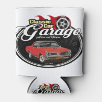 Classic Car GTO Garage Can Cooler