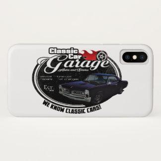 Classic Car GTO Garage iPhone X Case
