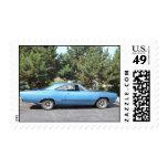 Classic Car GTX 1968 Postage Stamp