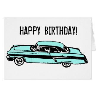 Classic Car HAPPY BIRTHDAY! Card