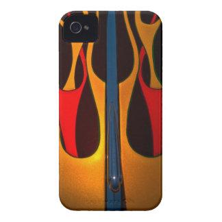 Classic Car Hood Flame Paint Case-Mate iPhone 4 Case