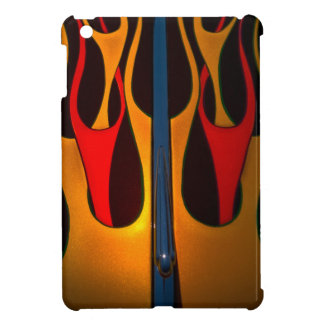 Classic Car Hood Flame Paint iPad Mini Covers