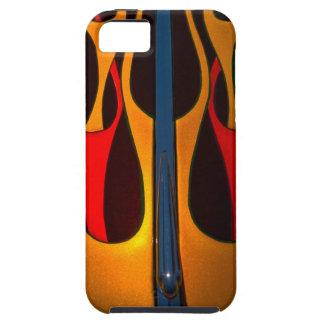 Classic Car Hood Flame Paint iPhone SE/5/5s Case