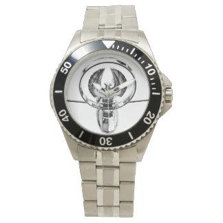 Classic Car Hood Ornament Wrist Watches