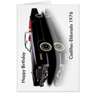 Classic Car image for birthday-greeting-card Card