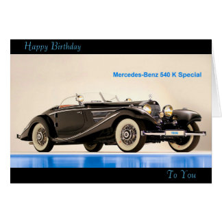 Classic Car image for greeting-card Card