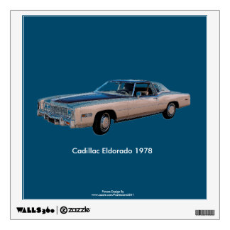 Classic Car image for Square-Wall-Decals Wall Sticker