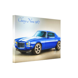 Classic Car image for wrapped-canvas Canvas Print