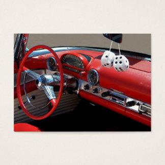 Classic Car Interior Business Card