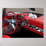 Classic Car Interior Posters