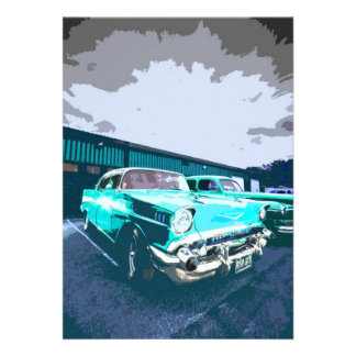 Classic Car Invitation