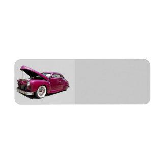 Classic Car Label