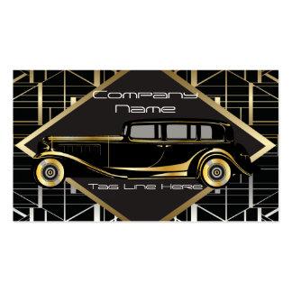 Classic Car Limousine Service Business Card