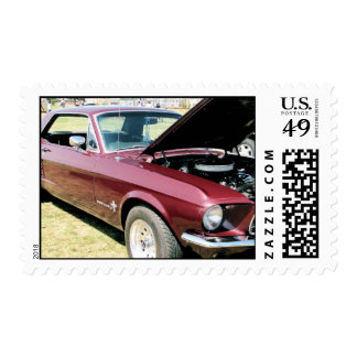 classic car lovers stamp