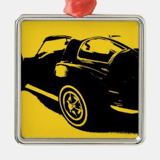 Classic Car Metal Ornament