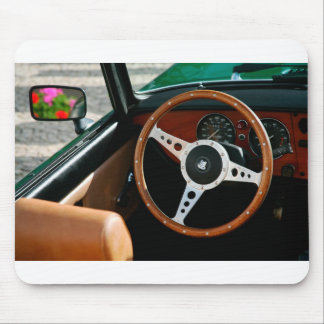 Classic car mouse pad