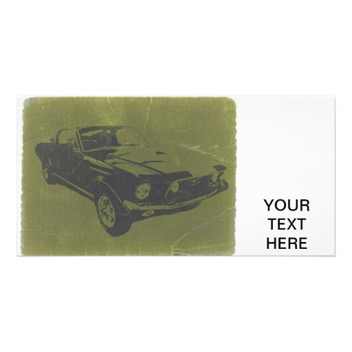 Classic Car Photo Greeting Card