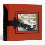 Classic Car Photo Keepsake Book Vinyl Binder