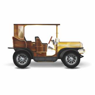 Classic Car Standing Photo Sculpture