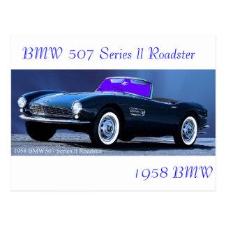 Classic Car postcard