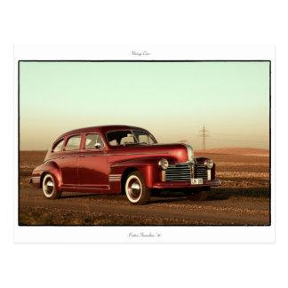 Classic Car Postcard: Pontiac Streamliner ,41 Postcard