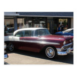 classic car postcards