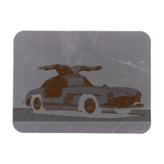 Classic Car Rectangle Magnet