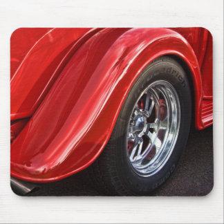 Classic Car Rear Wheel Mouse Pad