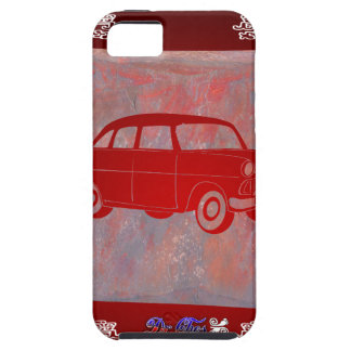CLASSIC CAR RED CUSTOMIZABLE PRODUCTS iPhone 5 CASES