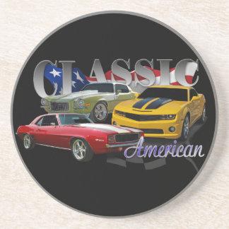Classic Car Sandstone Coaster
