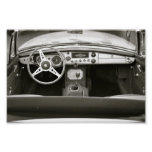 Classic Car Seat with a View Posters