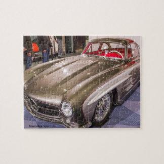 Classic Car Series - Mercedes Sport Car Puzzle