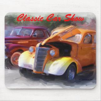 Classic Car Show Mouse Pad