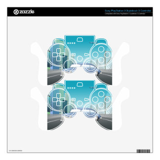 Classic car skin for PS3 controller
