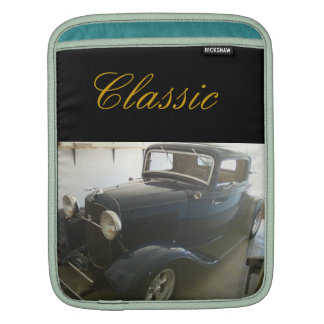 Classic Car Sleeve For iPads