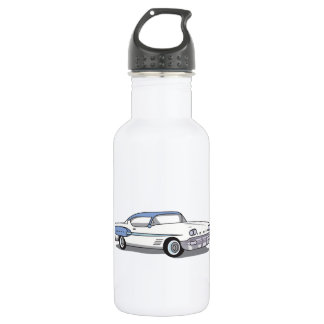 CLASSIC CAR STAINLESS STEEL WATER BOTTLE