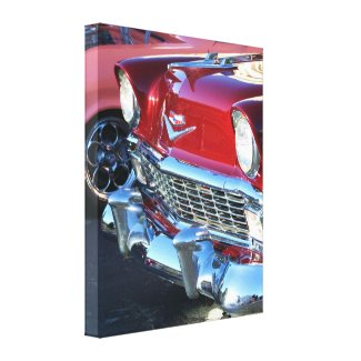 Classic car stretched canvas print wrappedcanvas