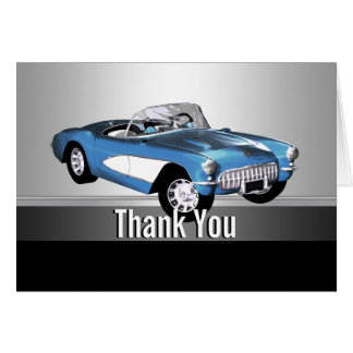 Classic Car Thank You Cards