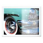 classic car vi rsvp 4.25x5.5 paper invitation card