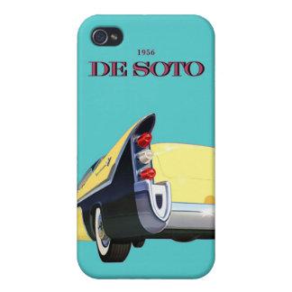 Classic Car Vintage DeSoto Automobile iPhone 4/4S Cases