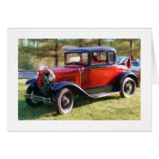Classic Car Christmas Cards