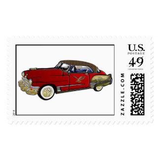 Classic Car with Leather Top Postage