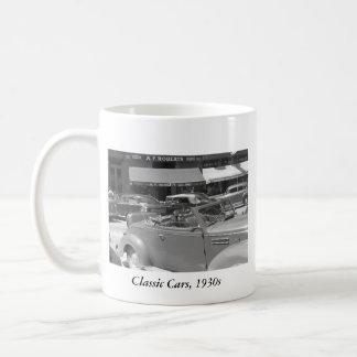 Classic Cars, 1930s Classic White Coffee Mug