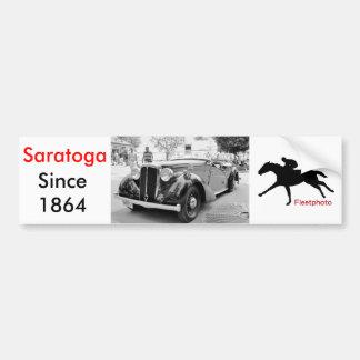 Classic Cars at Saratoga Car Bumper Sticker