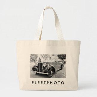Classic Cars at Saratoga Large Tote Bag