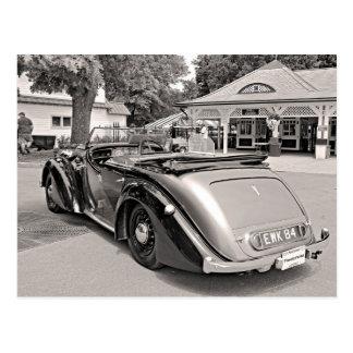 Classic Cars at Saratoga Postcard
