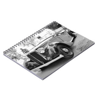Classic Cars at Saratoga Spiral Notebook