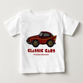 Classic cars baby t-shirt design