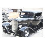 "Classic Cars Birthday 5"" X 7"" Invitation Card"