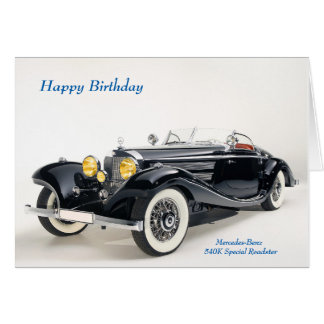 Mercedes birthday cards greeting photo cards zazzle for Mercedes benz card